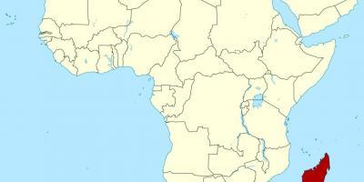 Madagaskar Karte.Madagaskar Karte Karten Madagaskar Ost Afrika Afrika
